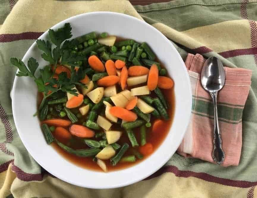 Healthy Old Fashioned Vegetable Soup