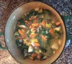 Winter Vegetable Pot Pie