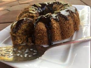 Low Fodmap Pumpkin Bundt Cake