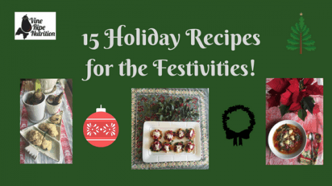 Recipe and Menus for the Holidays