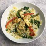 Vegetable Pasta with Tofu