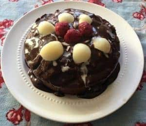 Almond Raspberry Chocolate Dessert