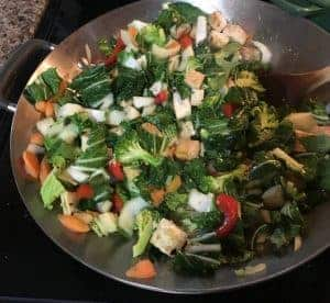 Tofu and Winter Veggie Stir Fry