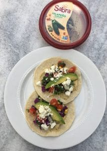 Crunch Summer Veggie Tacos
