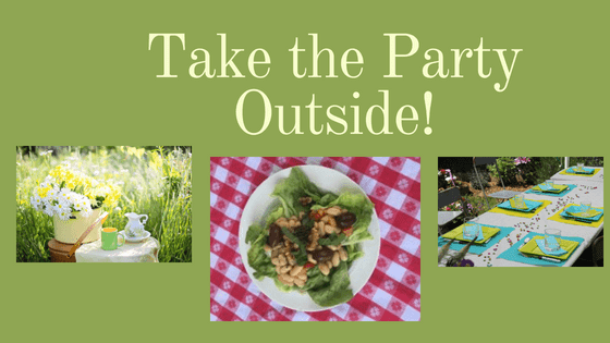Take the Party Outside!