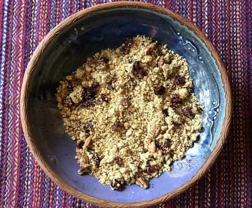 Toasted Pecan Coconut Pecan Granola