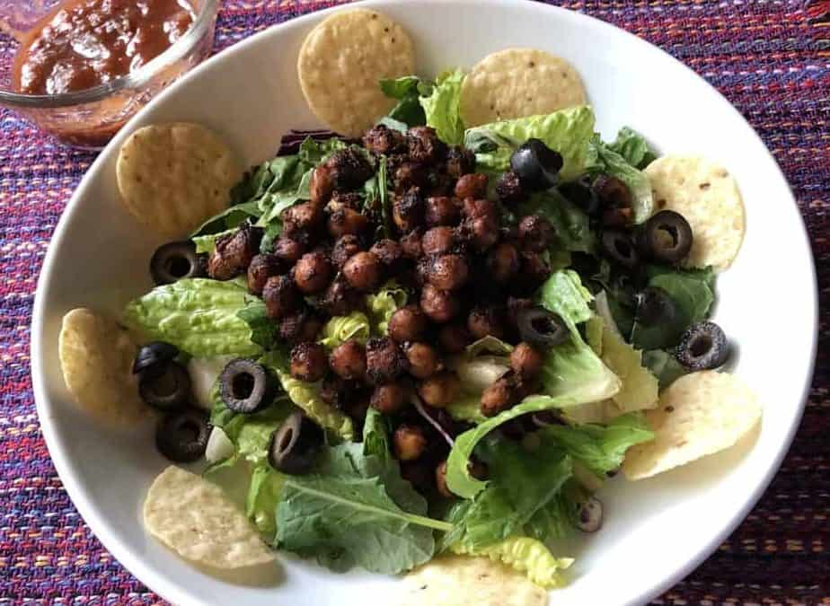 Mexican Garbanzo Bean Salad