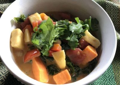 Sweet Potato Thai Soup