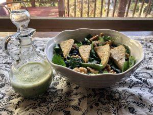 Tangy Yogurt Dessing Recipe for Kale Salad