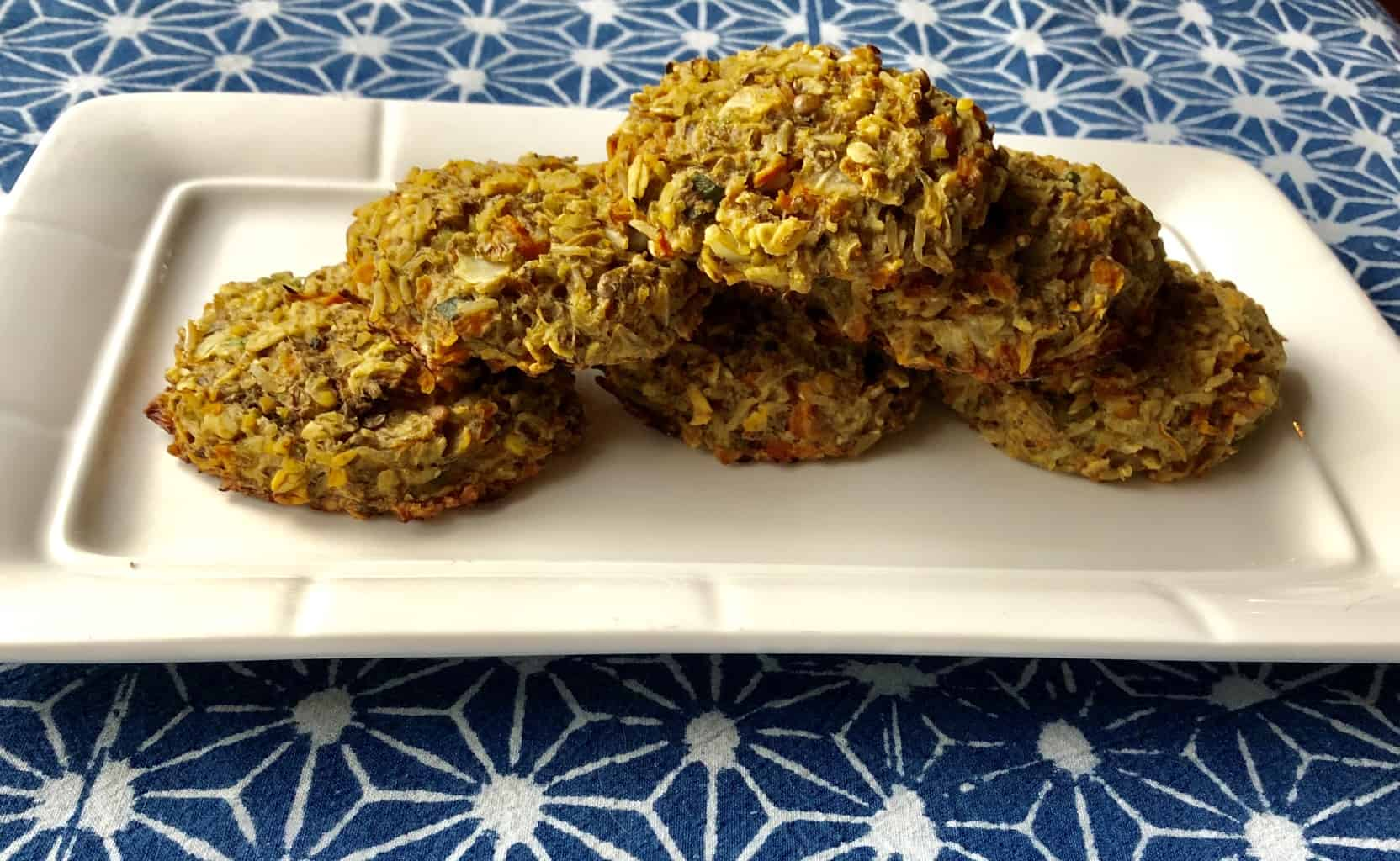 Stack of Low Fodmap Veggie Burgers