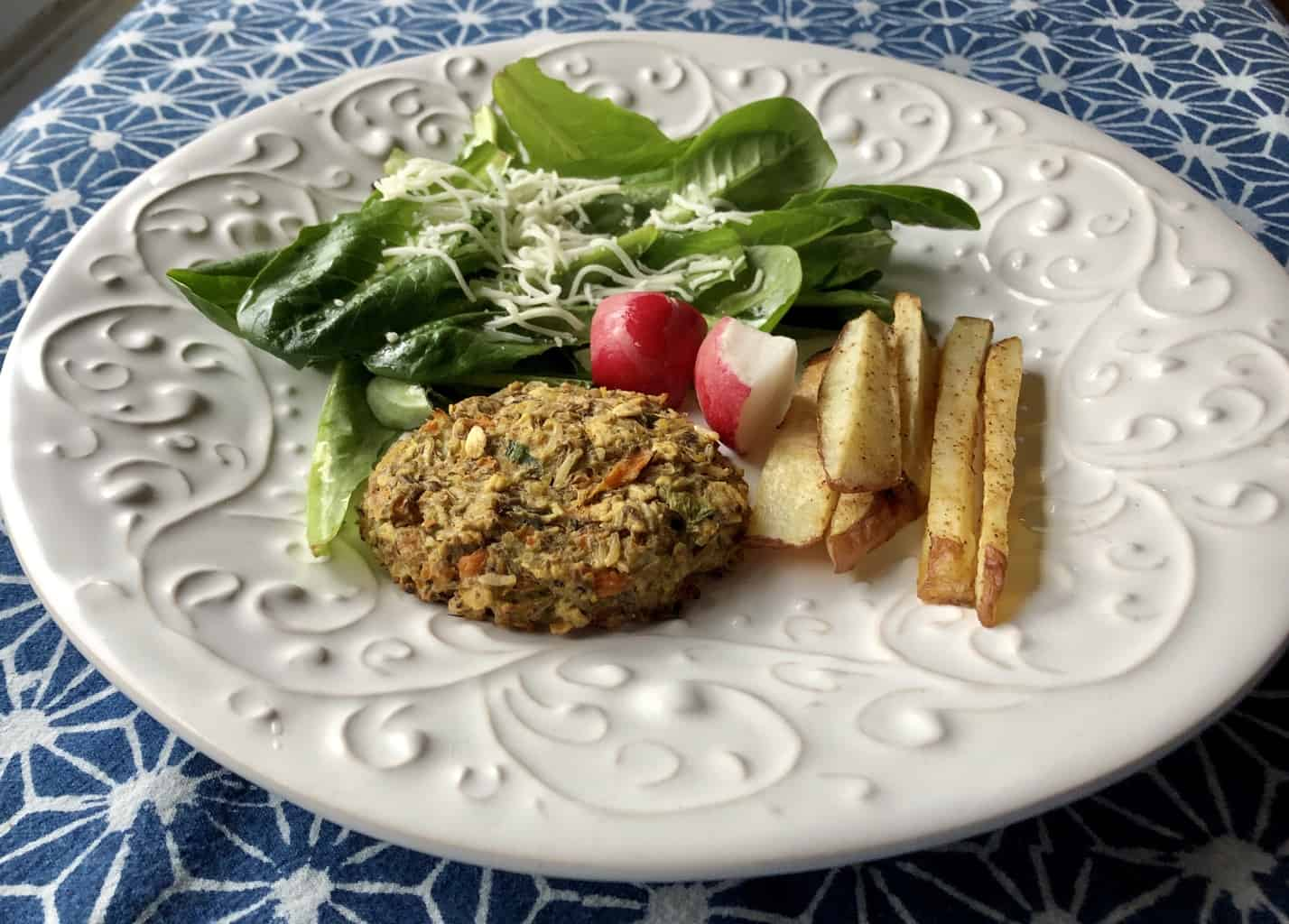 Veggie Burgers Low in Fodmaps