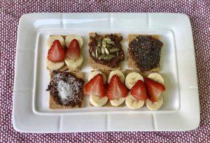 Grilled Fruit Inside S'mores