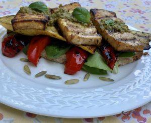 Low Fodmap Vegetarian Sandwich