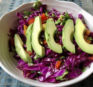 Purple Salad with Polyphenols