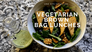 Tofu Salad for a brown bag lunch idea