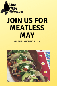 Meatless May poster