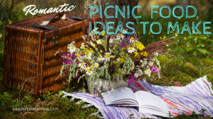 Picnic Basket Flowers and a Book